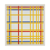 New York City, 1942 Giclée-trykk av Piet Mondrian
