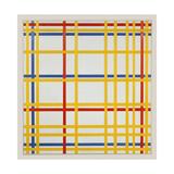 New York City, 1942 Lámina giclée por Piet Mondrian