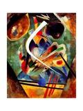 Black and Violet Composition, 1920 Giclée-trykk av Wassily Kandinsky