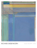 Ocean Park 79, 1975 Print by Richard Diebenkorn
