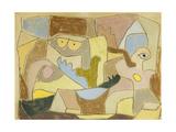 ...True Also for Plants, 1932 Gicléetryck av Paul Klee