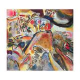 Small Pleasures, 1913 Lámina giclée por Wassily Kandinsky