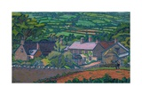 Clayhidon Giclee Print by Charles Ginner