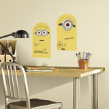 Minions Dry Erase Peel and Stick Wall Decals Wallstickers