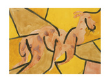 Billy Goat Bursting Out, 1939 Gicléetryck av Paul Klee