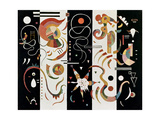 No.609, 1934 Giclée-trykk av Wassily Kandinsky