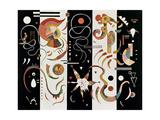 No.609, 1934 Gicléetryck av Wassily Kandinsky