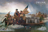 Drunk History - Crossing The Delaware Stampe