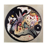 In the Black Circle, 1923 Giclée-trykk av Wassily Kandinsky