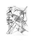 Composition, 1926 ジクレープリント : ワシリー・カンディンスキー
