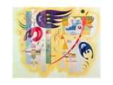 Viola dominante, 1934 Stampa giclée di Wassily Kandinsky