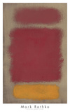 Untitled, 1968 Poster van Mark Rothko