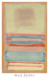 No. 7 [or] No. 11, 1949 Posters by Mark Rothko