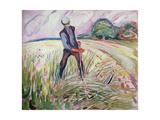 Haymaking Giclee-vedos tekijänä Edvard Munch