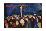 Golgotha, 1900 Giclee-vedos tekijänä Edvard Munch