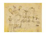 Small Experimental Machine, 1921 Gicléetryck av Paul Klee