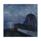 Starry Night, 1893 Giclee-vedos tekijänä Edvard Munch