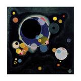 Sketch for Several Circles, 1926 Giclee-trykk av Wassily Kandinsky