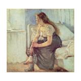 Morgon Gicléetryck av Edvard Munch