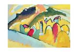 Study in Autumn No. 1, 1910 Gicléetryck av Wassily Kandinsky