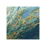 Blue Ocean Sunset Giclee Print by Margaret Juul