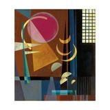Scharf-Ruhig, 1927 Lámina giclée por Wassily Kandinsky