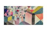 An Insight into the Town, 1917 Gicléetryck av Paul Klee