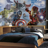 Avengers: Age of Ultron Character XL Chair Rail Prepasted Mural Wall Mural