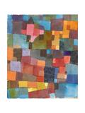 Raumarchitekturen (Auf Kalt-Warm), 1915 Giclée-Druck von Paul Klee