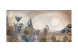 Oceanic Landscape; Oceanic Landschaft, 1929 Gicléetryck av Paul Klee