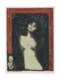 Madonna - Liebendes Weib, C. 1895-1902 Giclée-tryk af Edvard Munch