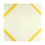 Lozenge Composition with Four Yellow Lines, 1933 Gicléetryck av Piet Mondrian