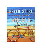 Never Stop Giclee Print by Danny Phillips