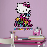 Hello Kitty Bows Peel and Stick Wall Decals Wall Decal