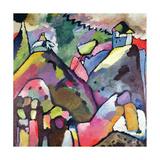Improvisación 9, 1910 Lámina giclée por Wassily Kandinsky