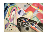 White Zig-Zags, 1922 Lámina giclée por Wassily Kandinsky