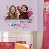 Girl Meets World Believe in Yourself Peel and Stick Giant Wall Decals Wall Decal