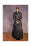 Portrait of Inger Munch Giclee-vedos tekijänä Edvard Munch