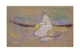 Girl on the Beach, 1906 Giclee-vedos tekijänä Edvard Munch
