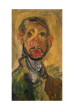 Self-Portrait, 1916 Gicléetryck av Chaim Soutine