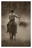 Cowboy Named Bronco Poster by Barry Hart