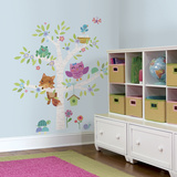 Woodland Baby Birch Tree Peel and Stick Giant Wall Decals Wall Decal