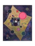 Accent En Rose, 1926 Lámina giclée por Wassily Kandinsky