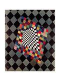 Quadrato, 1927 Stampa giclée di Wassily Kandinsky