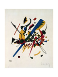 Piccole parole, 1922 Stampa giclée di Wassily Kandinsky