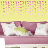 Watercolor Heart Peel and Stick Wall Decals Wall Decal