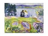 Springtime (Lovers by the Shore), 1911-1913 Giclee-trykk av Edvard Munch