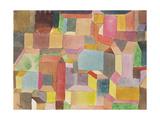 Medieval Town, 1915 Giclée-Druck von Paul Klee