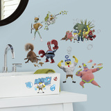 The Spongebob Movie Peel and Stick Wall Decals Wall Decal