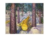 Yellow Log, 1912 Giclee-vedos tekijänä Edvard Munch